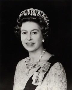 NPG x134731; Queen Elizabeth II by Peter Grugeon, for  Camera Press